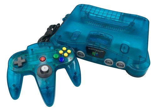 small resolution of but as was the norm for nintendo by this time there were many color variations available for the n64 and its controllers including some super cool ones
