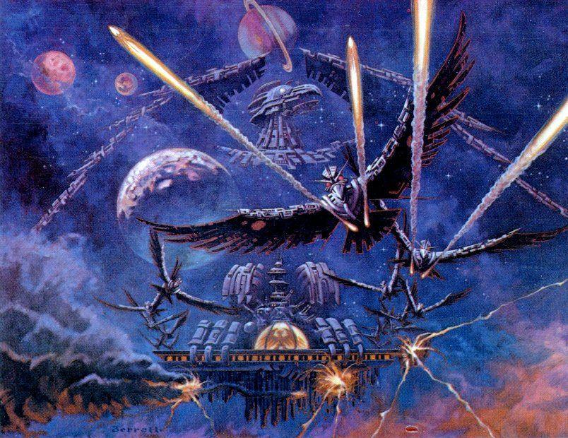 Atari 2600 Phoenix art work.