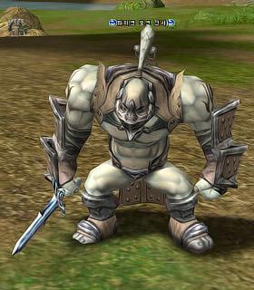 新天堂II透視鏡 怪物(NPC) 泰可獸人戰士