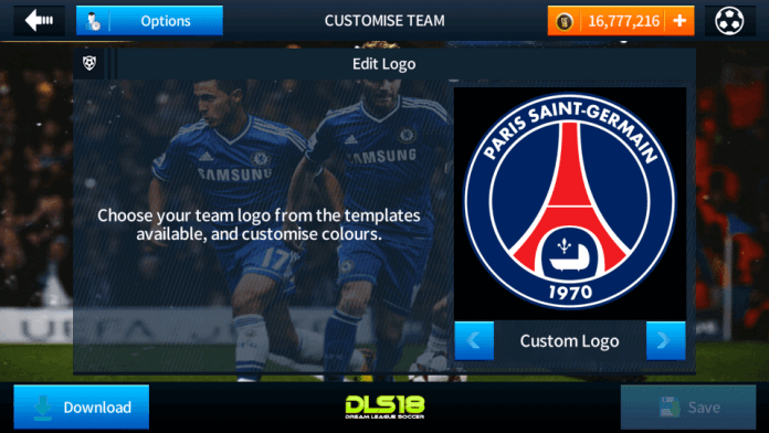 Paris Saint Germain (psg) Logo And kits 2017-2018 For Dream League Soccer 2018