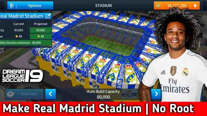 How to Change The Stadium Of Dream League Soccer [Real Madrid Stadium]