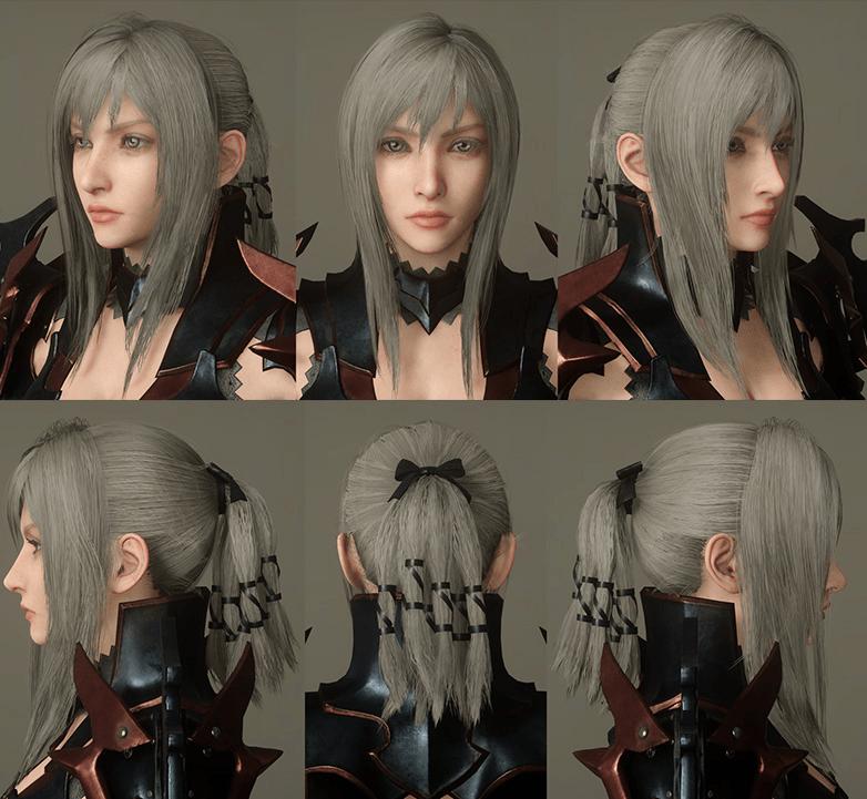 Most Beautiful Final Fantasy Female Characters - Aranea Highwind - Sexy Warrior Full Face Aranea Highwind Lovely from Final Fantasy 15 Final Fantasy XV Game