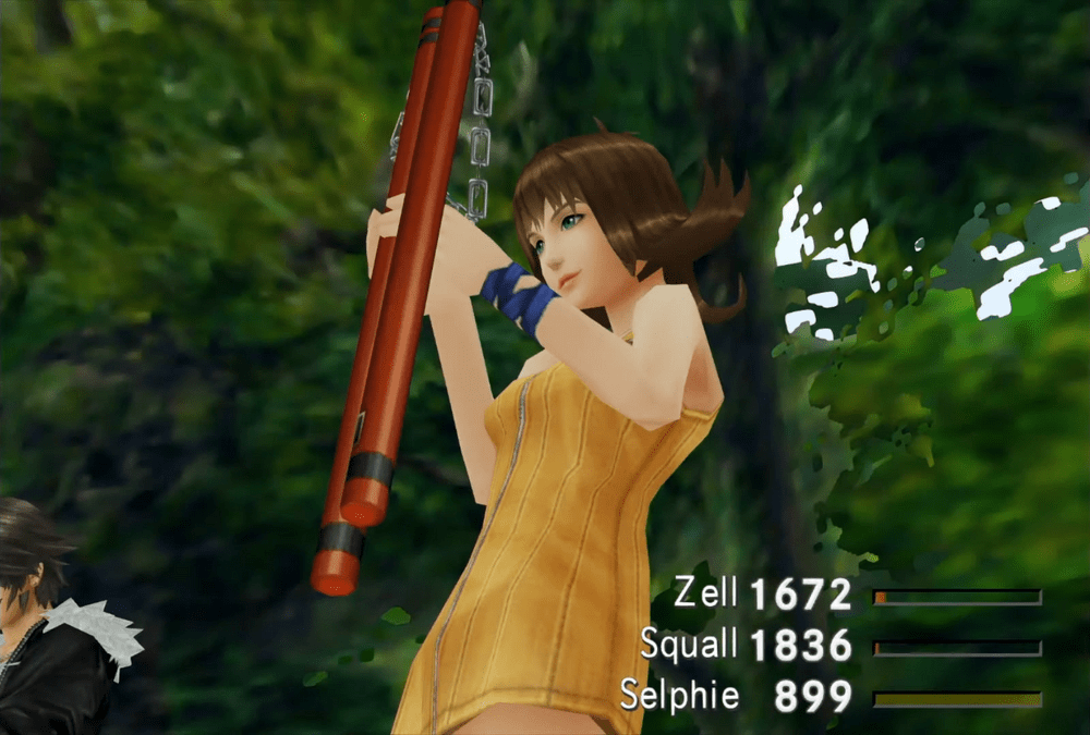Cute Selphie Tilmitt from Final Fantasy VIII - Most Beautiful - Final Fantasy Female Character - Hot Lovely Sexy Princess Fantasy Anime Girls