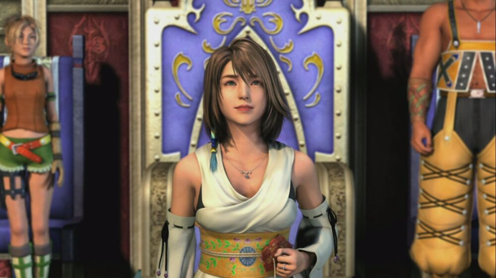 Hot & Cute Yuna from Final Fantasy X - Most Beautiful Final Fantasy Female Characters - Hot Lovely Sexy Princess Fantasy Anime Girls