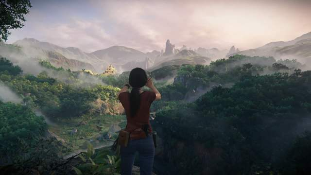 One of the many beautiful landscapes in Uncharted: The Lost Legacy