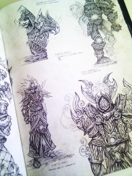 Artbook tout l'art de Blizzard (2)