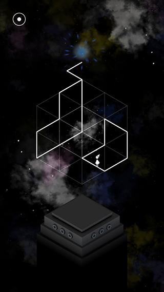 ワイヤーフレーム状のステージ