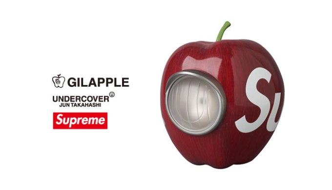 SupremeとコラボしたGILAPPLEも。