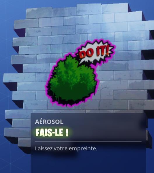 Fortnite Les Joueurs Peuvent Taguer Les Murs Et Les Constructions Fortnite GAMEWAVE