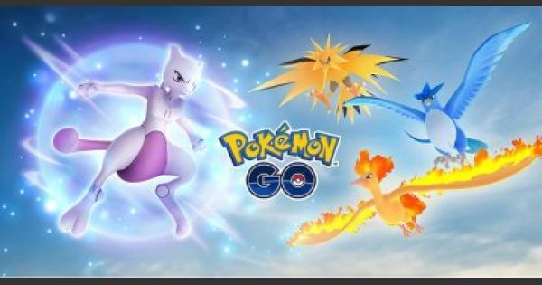 pokemon go legendary pokemon