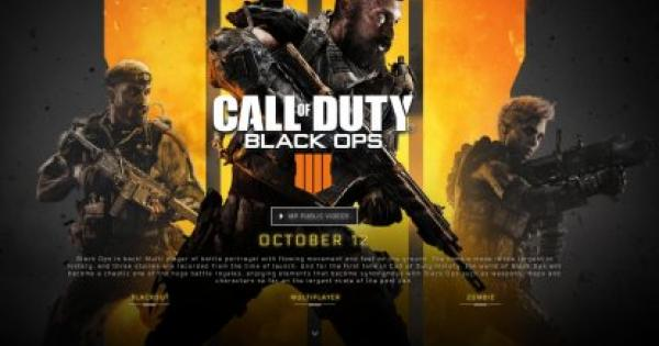 Cod Bo4 Black Ops 4 Crossplay Status Call Of Duty Black Ops 4 Gamewith