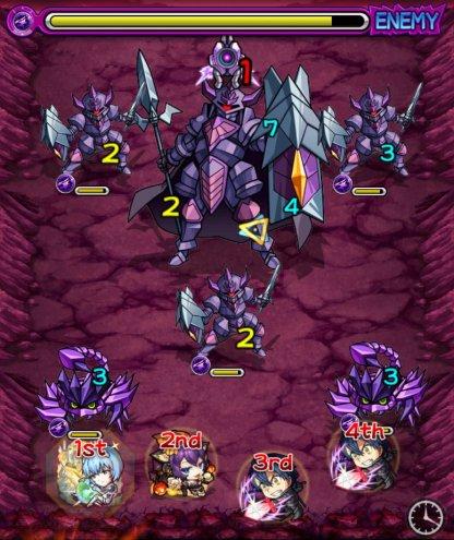 【怪物彈珠】闇神貝庫達【究極】攻略及推薦角色排行榜 SAO合作 - GameWith