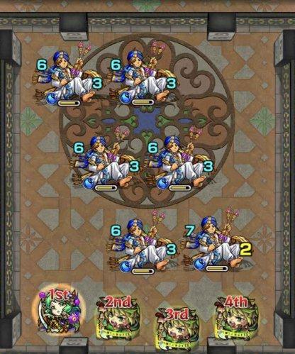 【怪物彈珠】裏霸者之塔 北【23層/水】關卡攻略及對應角色 - GameWith