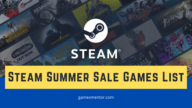 Steam Summer Sale Games List
