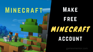 make a free minecraft account