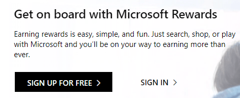 signup for free Microsoft