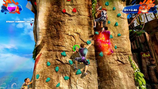 Anstrengend - Das Klettern ist durchaus Kräfteraubend.