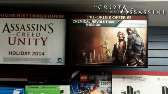 Assassins Creed Unity DLC Chemical Revolution