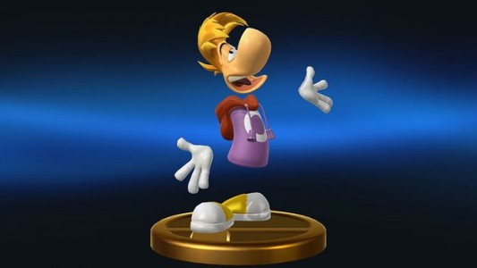 Rayman Trophäe Smash Bros Wii U