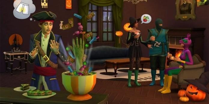Die Sims 4 Halloween Gameplay-Pack