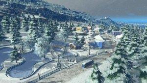 Snowfall Erweiterung Cities Skylines