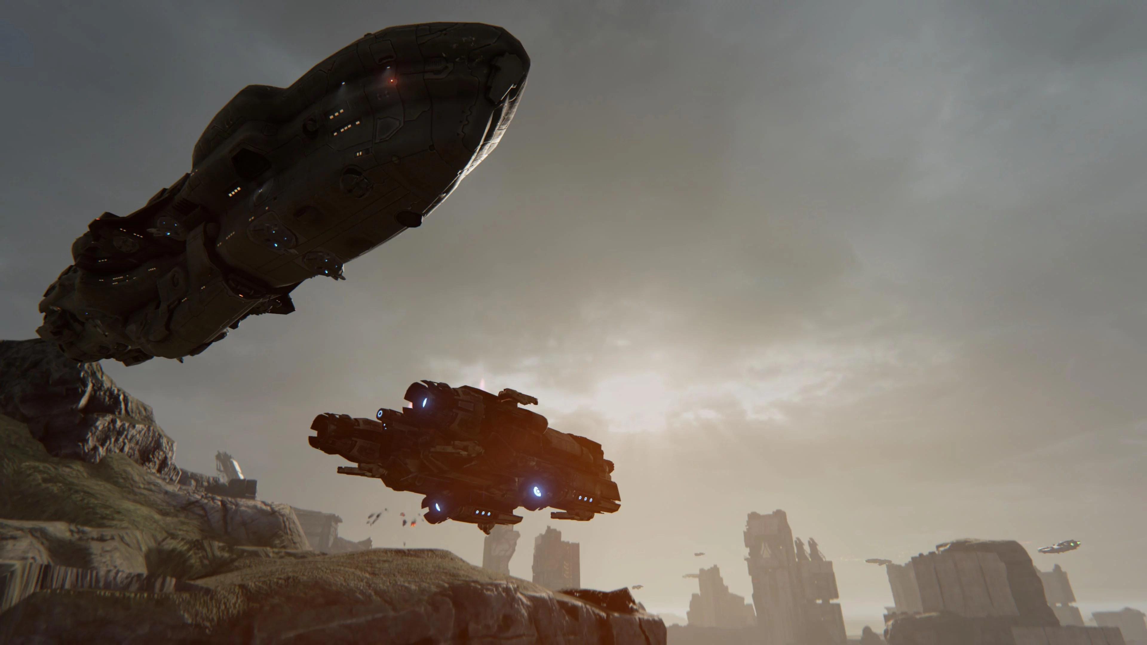Größenvergleich Corvette zu Schlachtschiff in Dreadnought