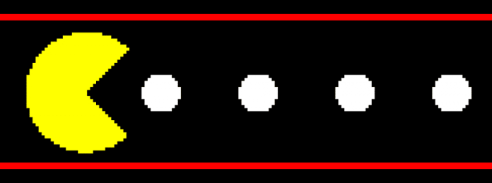 Videospiel Pacman 80er Retro