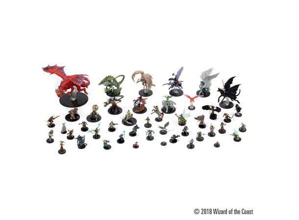 D&D Figur Icons Guildmasters Guide x4 Guildmastes Guide to