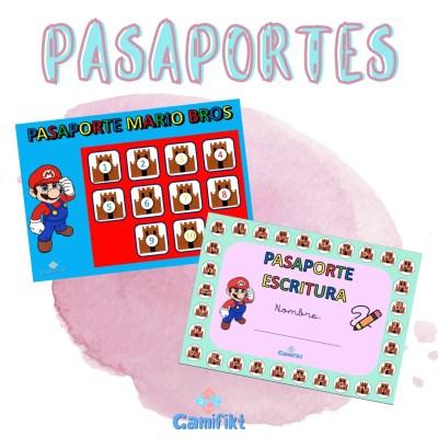 Pasaportes Mario Bros