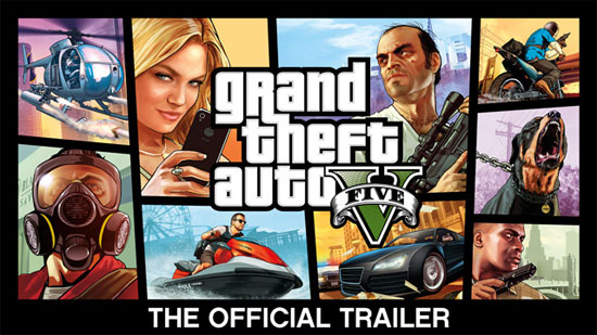 Grand-Theft-Auto-V-Official Trailer