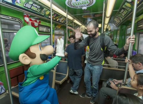 Nintendo Train Takeover Event