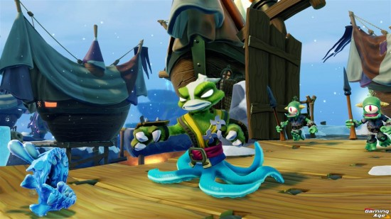 Skylanders SWAP Force_Stink Buckler (Stink Bomb_Wash Buckler)