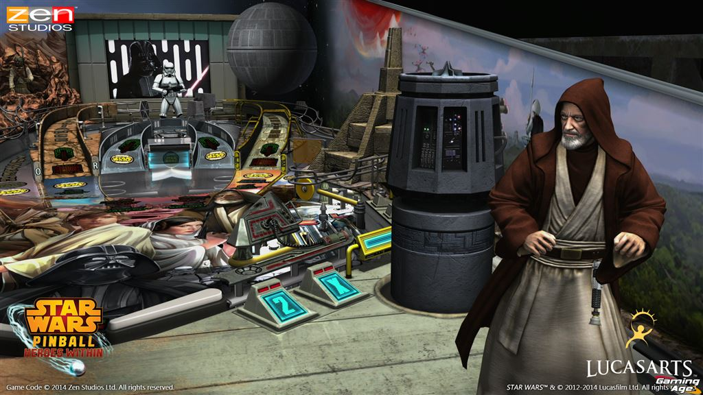 Star Wars Pinball Episode Iv Trailer Screens Give Us A New Hope Gaming Age