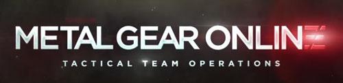 metal gear online logo