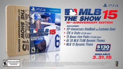 MLB 15 The Show 10th Anniversary