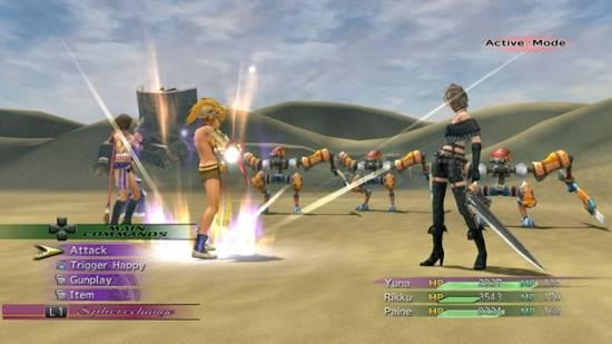 Final Fantasy X2 HD 001