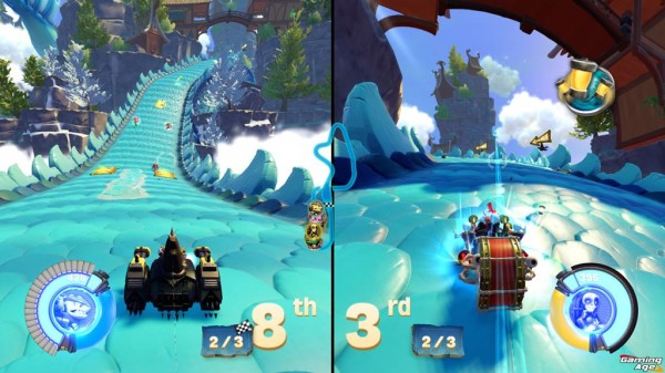 Skylanders SC_Co-op Split Screen Racing