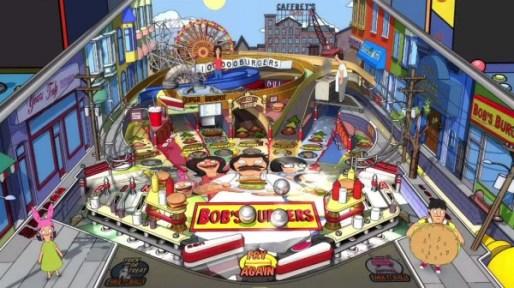 Bobs Burgers Pinball