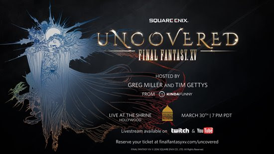 FFXV uncovered