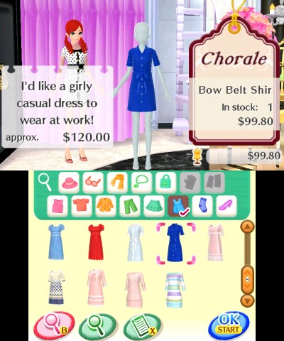 Style Savvy Fashion Forward Review For Nintendo 3ds Gaming Age