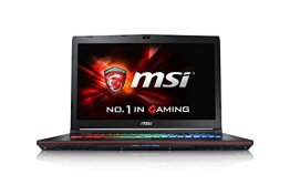 MSI GE72-6QD161 43,9 cm (17,3 Zoll) Notebook (Intel Core i7 -6700HQ (Skylake), 16GB RAM, 1TB HDD, NVIDIA Geforce GTX 960M, Win 10 Home) schwarz - 1