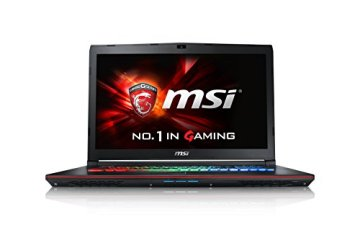 MSI GE72-6QD161 43,9 cm (17,3 Zoll) Notebook (Intel Core i7 -6700HQ (Skylake), 16GB RAM, 1TB HDD, NVIDIA Geforce GTX 960M, Win 10 Home) schwarz - 1