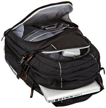 AmazonBasics Laptop-Rucksack geeignet für 43,2 cm (17 Zoll) - 5