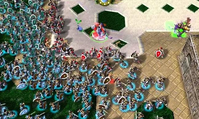 Warcraft 3 Footman Frenzy 50 Map Download