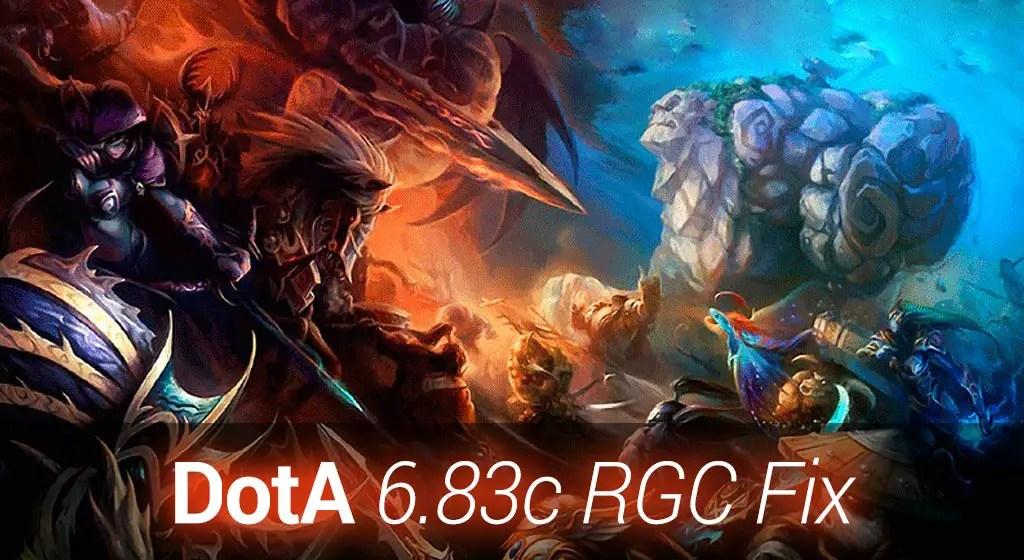 Dota 683c RGC Fix Map Download