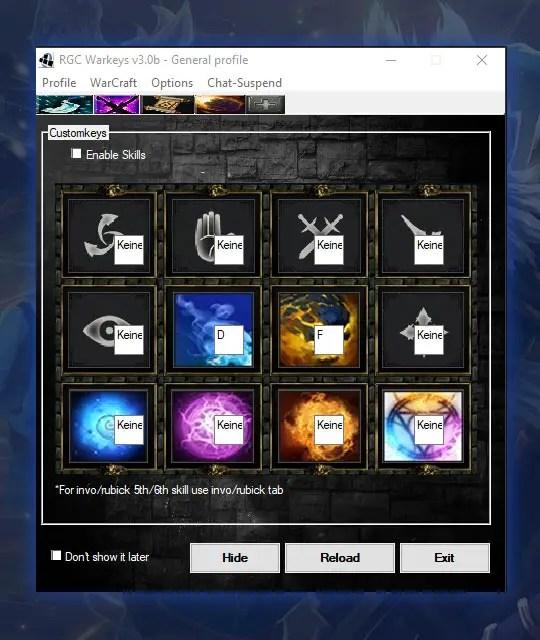 RGC Warkeys Download Dota RGC Hotkey Tool