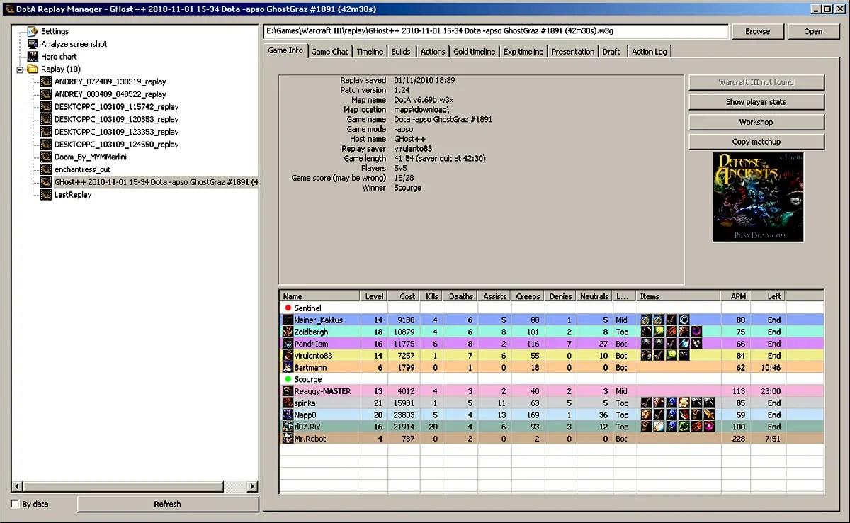 Dota Replay Manager Download Warcraft 3 Tools