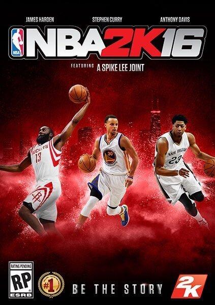 NBA 2K16 PC標準版(Steam下載)
