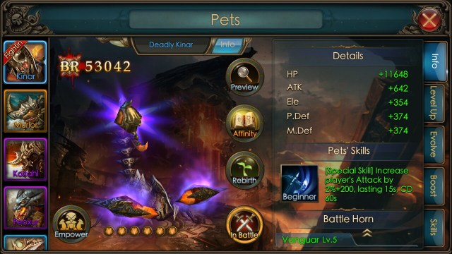 legacy of discord pets