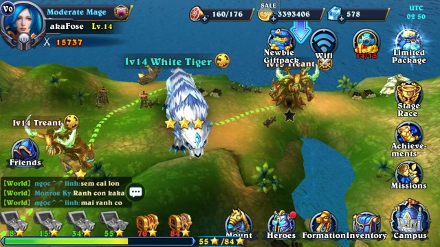 MMORPG на Android
